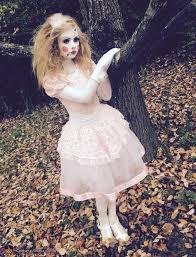 Killer Doll Halloween Costume Porcelain Doll Costume Porcelain Doll Costume Costume Works