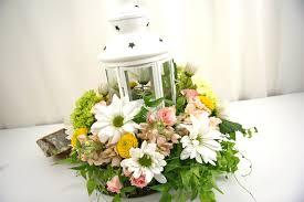 Reception Flowers Low Arrangements Rf0578 White Ikea Lantern