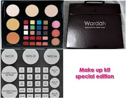 Wardah Kit wardah make up kit special edition and professional jakarta kosmetika