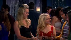 penny tbbt was penny checking out bernadette bigbangtheory