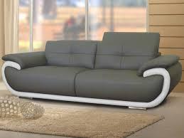 sofactory canapé canap 3 places en cuir rome design pas cher sur sofactory canapé 3
