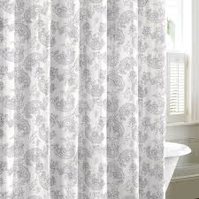 Paisley Shower Curtain Buy Garden Paisley Yellow And Grey Shower Curtain In Cheap Price