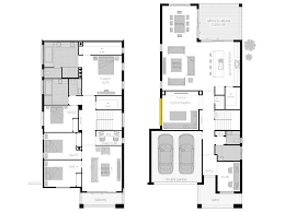 narrow house plans with garage baby nursery floor plans for narrow blocks floor plans unique