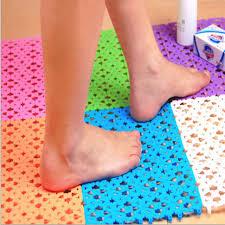 bathroom bath mats shower plastic mats non slip 30 20cm candy