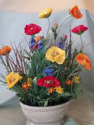 Polyester Flowers - products
