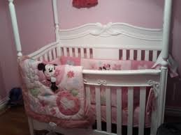 minnie mouse crib set perfect disney minnie mouse piece crib