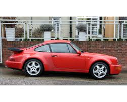 porsche 964 red porsche 964 turbo 2 coupe 3 3 our stock hendon way motors