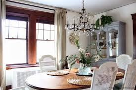 neutral interiors ethan allen dining room country french