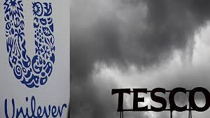 tesco bureau de change exchange rate weak pound prompts price punch up between tesco and unilever euronews