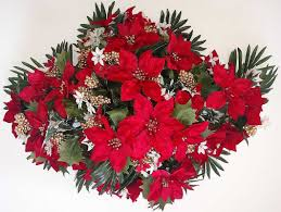 artificial flower arrangements for cemeteries