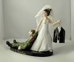 camo wedding cake toppers custom wedding cake toppers camouflage tuxedo canadian