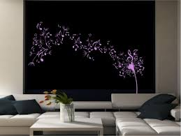 dandelion clock wall stencil dandelion clock seeds music note wall decal sticker transfer with regard to dimensions 1312 x 989