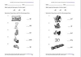best solutions of consonant digraphs worksheets with letter