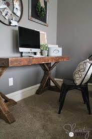 Diy Trestle Desk Diy Desk For 70 Shanty 2 Chic