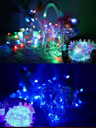 wholesale mini led cheap christmas light with battery case buy