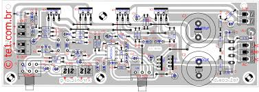 400w stereo marshall leach amplifier wiring diagram components