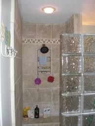 cozy glass shower blocks 127 glass block shower wall with door
