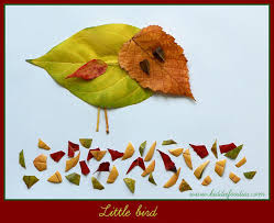 fall crafts for 5 pictures with autumn leaves kiddie foodies