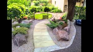 simple home landscape ideas for small gardens youtube
