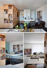 axe design meuble bibliothèque séparation comme axe central fonctionnel et point
