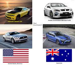 holden muscle car american v8 muscle car u0027s australian counterparts by nissangtrfan