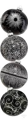 filatov assorted black glass ornaments holidays a