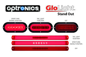 flush mount trailer lights optronics uses glolight technology to create new high style led