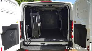 nissan cargo van interior tommy gate 650 series