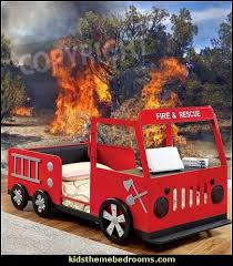 Fire Engine Bed Decorating Theme Bedrooms Maries Manor Fire Engine Bed