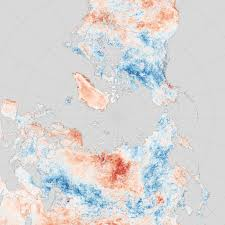 North America Temperature Map by Land Surface Temperature Anomalies In North America The Middle