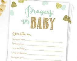 Baby Verses For Baby Shower - prayers for baby etsy