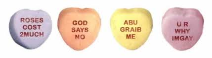 heart candy sayings badcupid s candy hearts neatorama