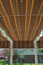 Pergola Coverings For Rain by Retractable Canopies Retractable Shades Retractable Deck And