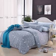 Teen Comforter Set Full Queen by Moon And Star Patterned Gray High End Textured Teen Bedding Sets