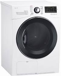 lg white ventless electric dryer dlec888w