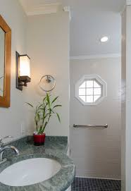 Bathroom Powder Room Everyday Solutions Tiny Powder Room Is Expanded Into Full