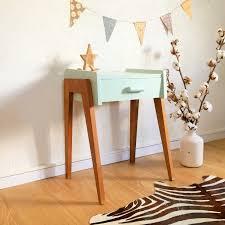 chambre bebe design scandinave table de nuit vintage scandinave chambre de bébé pinterest