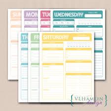 free printable life planner 2015 daily planner printable sweet treats food life design