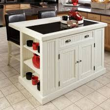 White Kitchen Cart Island White Kitchen Carts For Less Overstock