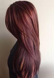 mahogany hair color with caramel highlights hair styles