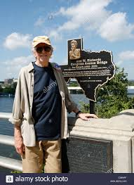 Texas travel companions images Austin writer edwin quot bud quot shrake next to memorial plaque for his jpg