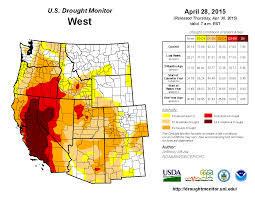 Map Of New Mexico And Texas by Drought April 2015 State Of The Climate National Centers For