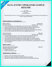 Data Entry Sample Resume by Maintenance Worker Resume Sample Resumecompanion Com Resume