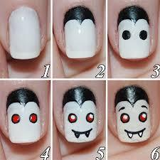phenomenal halloween nail art photo inspirations cute designs easy