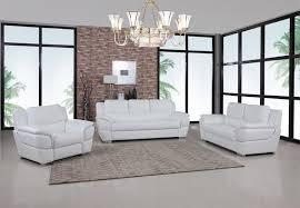 living room set white global united gu4572 living room set white global united