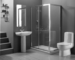 Very Small Bathroom Ideas by Lavish Very Small Bathroom Design Idea With Blue Wallpaper With