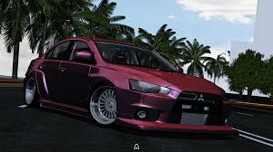 stanced mitsubishi lancer virtual stance works forums show off your virtually stanced