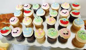 interior design cool baby themed cupcake decorations home design