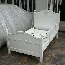princess elegant white super single bed frame selling cheap 100