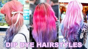 15 dip dye hair looks from japan youtube